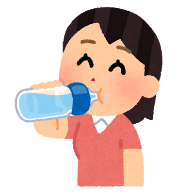 drink_suibun_hokyuu_petbottle_woman (1)